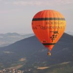 Balloon over pamplona