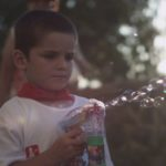 child-bubble-machine-during-san-fermin-fiesta