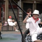 kids-playing-during-san-fermin-festival-pamplona