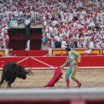 matador in plaza de toros pamplona
