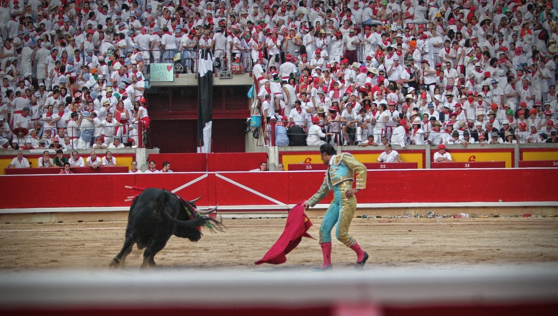 matador in plaza de toros