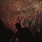 nighly-fireworks-during-san-fermin-fiesta-pamplona