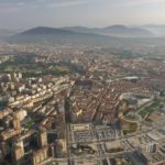 pamplona navarra spain from above