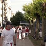 Walking streets during San Fermin