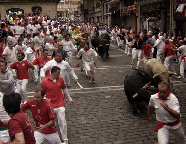 Running of the Bulls 2015