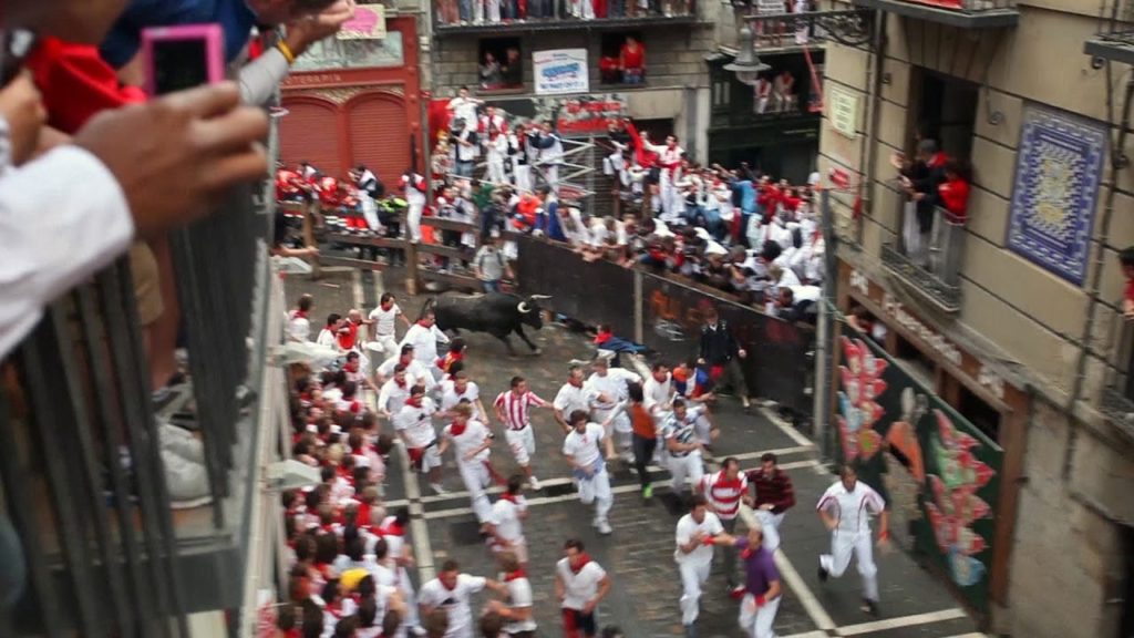 How to participate in Running of the Bulls