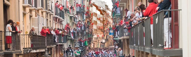 Running of the Bulls travel packages