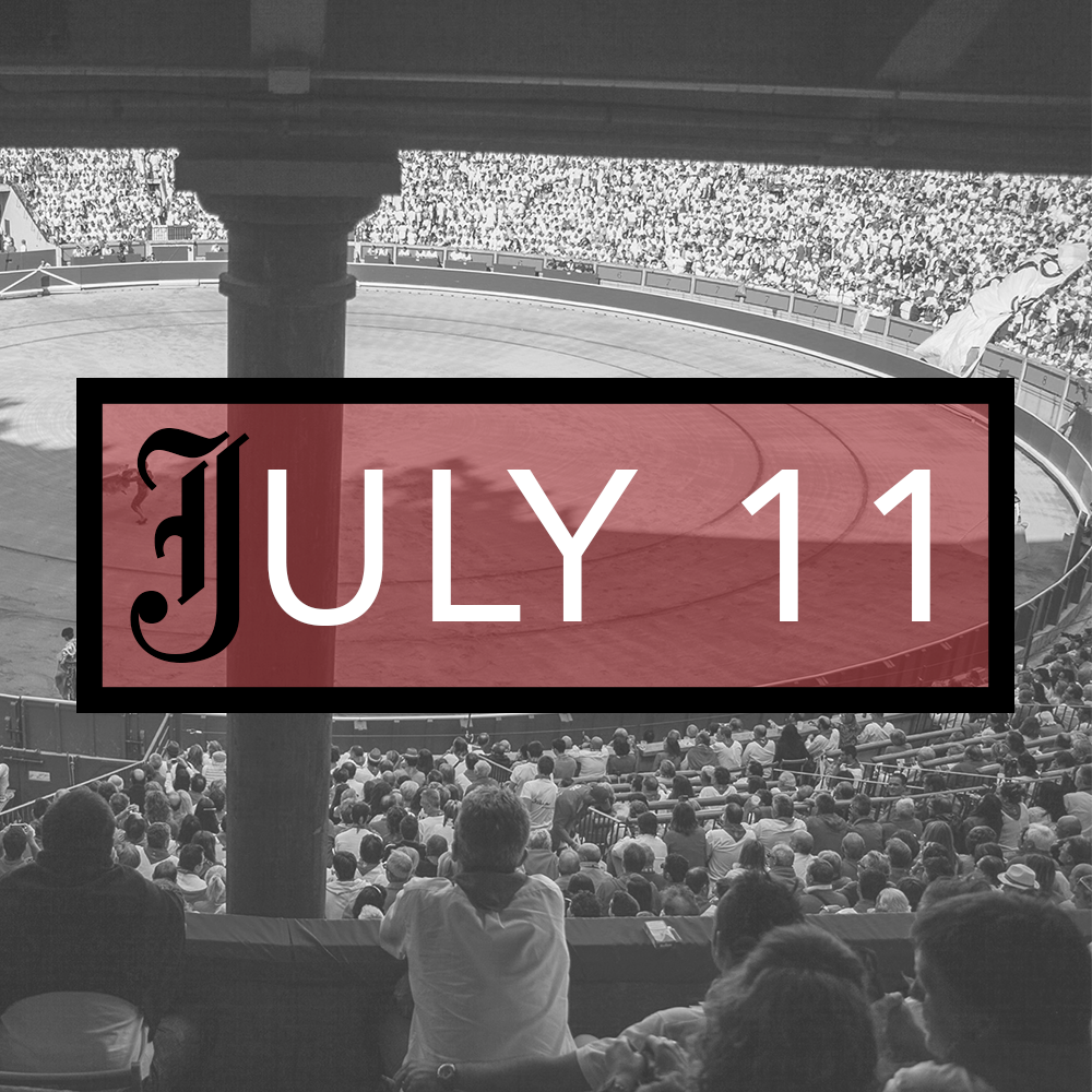 July 11th Bullfighting Tickets