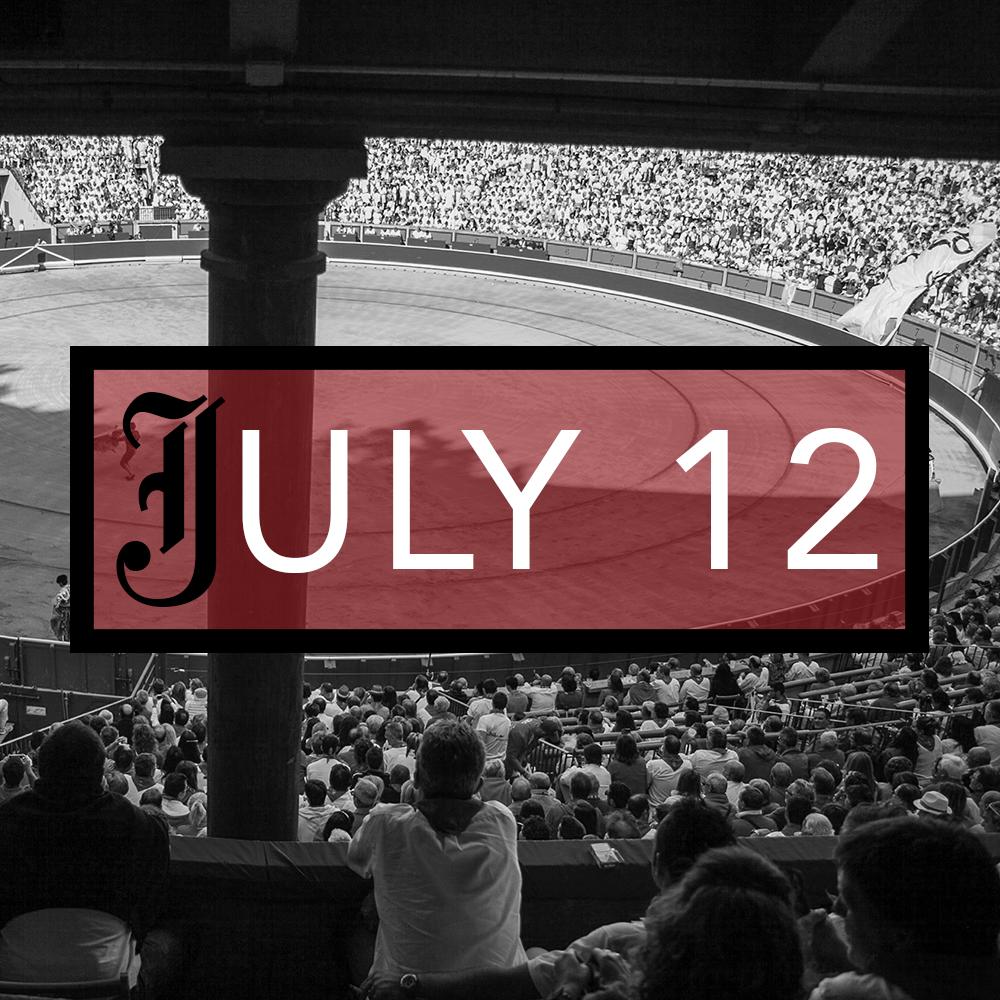 July 12th Bullfighting Tickets