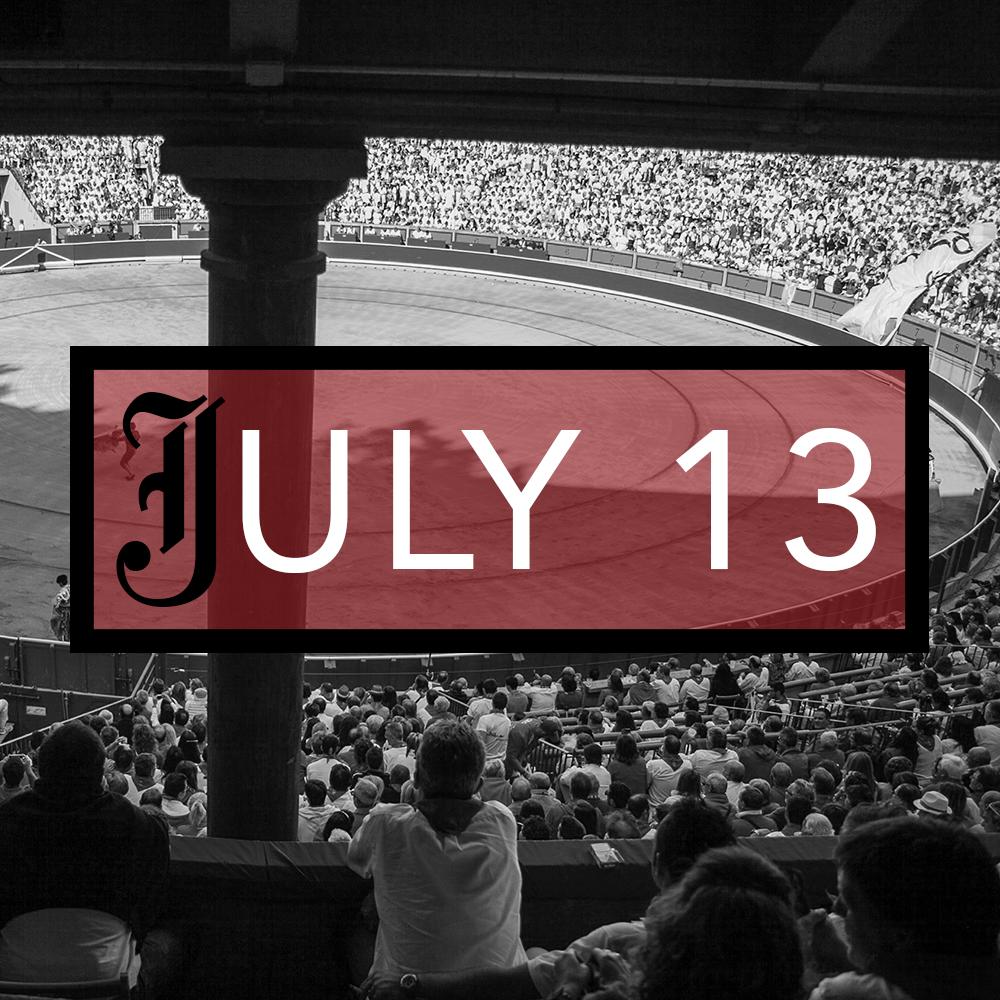 July 13th Bullfighting Tickets