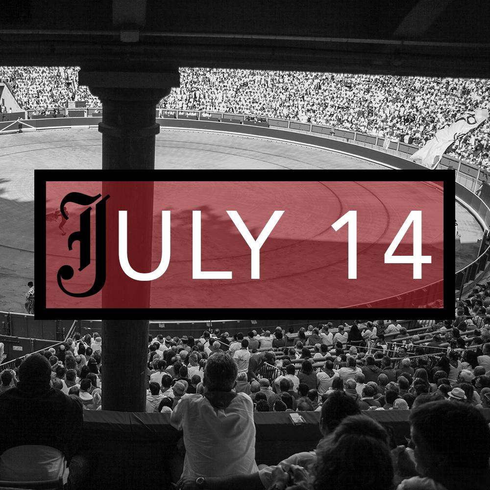 July 14th Bullfight Tickets