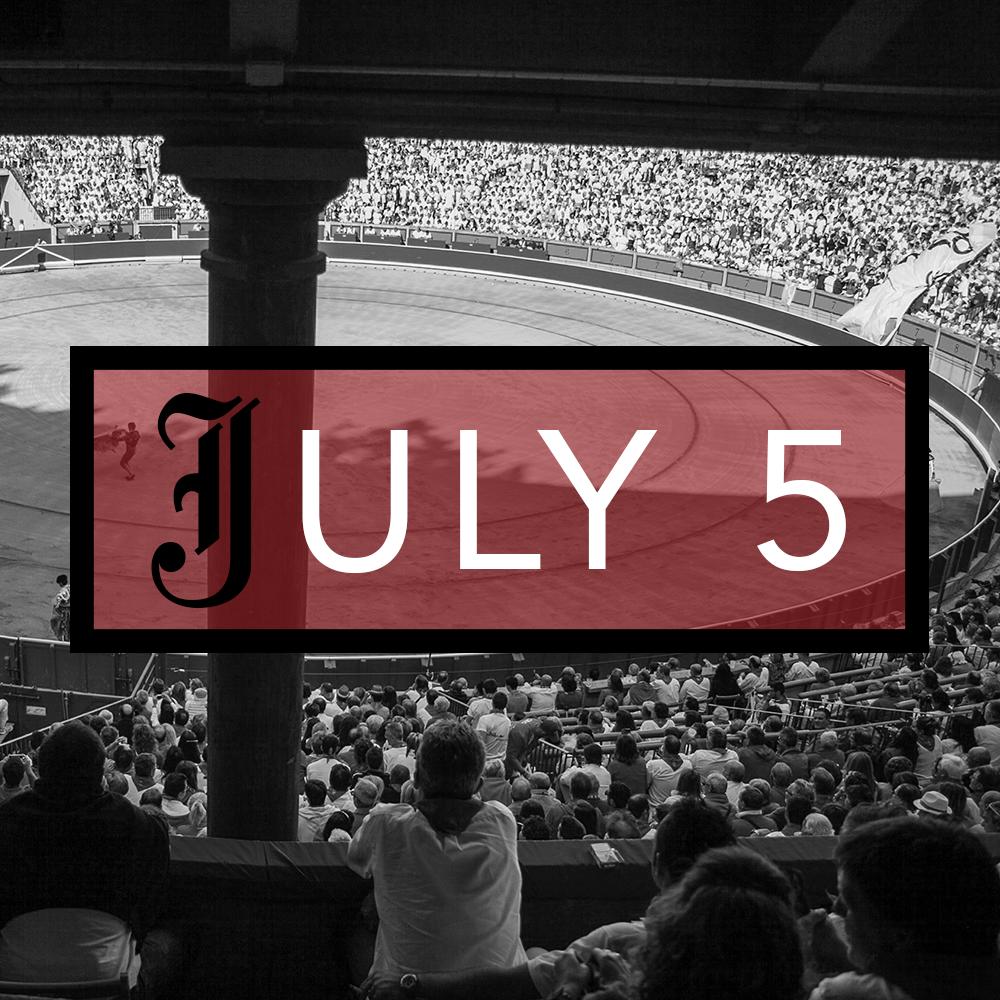 July 5th Bullfighting Tickets