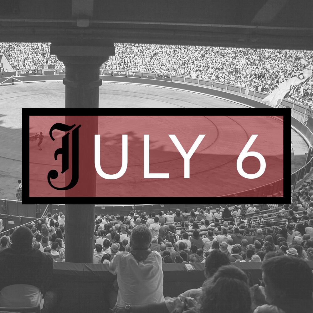 July 6th Bullfighting Tickets