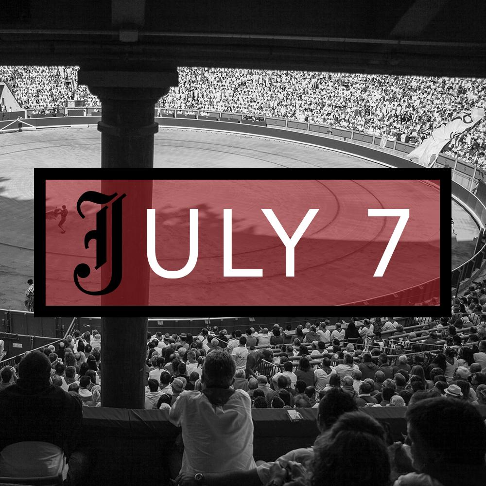 July 7th Bullfighting Tickets