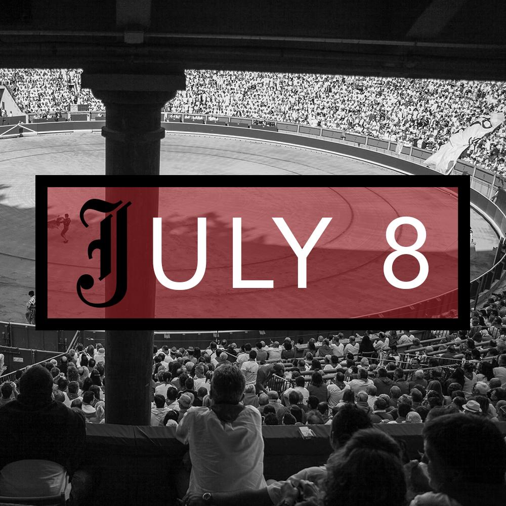 July 8th Bullfighting Tickets