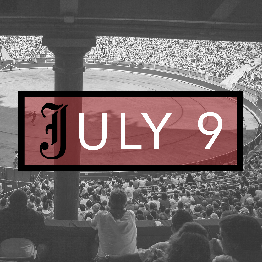 July 9th Bullfighting Tickets