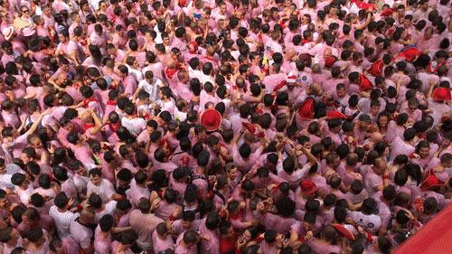 San Fermin Crowd