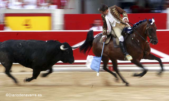 Rejoneo, a traditional bullfight