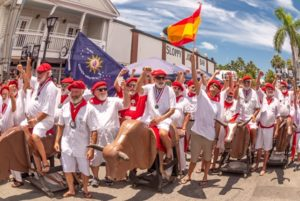 The Running of the Bulls in Key West